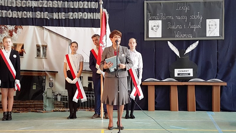 sztandar dla szkoły w Siekierkach Wielkich_2